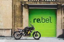 Elektrická motorka.