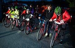 Noční koloběžkování si užijí děti, pohodáři i závodníci