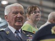 Veterán RAF Emil Boček.