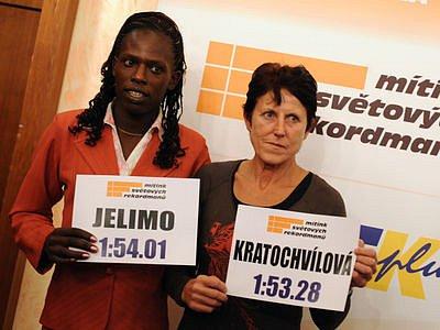 UŽ JEN 73 SETIN. Tolik chybí keňské půlkařce Pamele Jelimové k překonání nejstaršího platného světového rekordu, který už od roku 1983 drží Jarmila Kratochvílová.