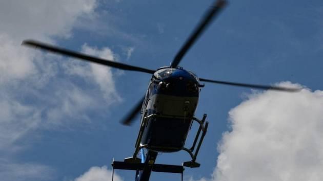 Vrtulník záchranářů. Ilustrační foto.