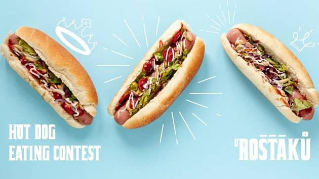 Hot Dog Contest.