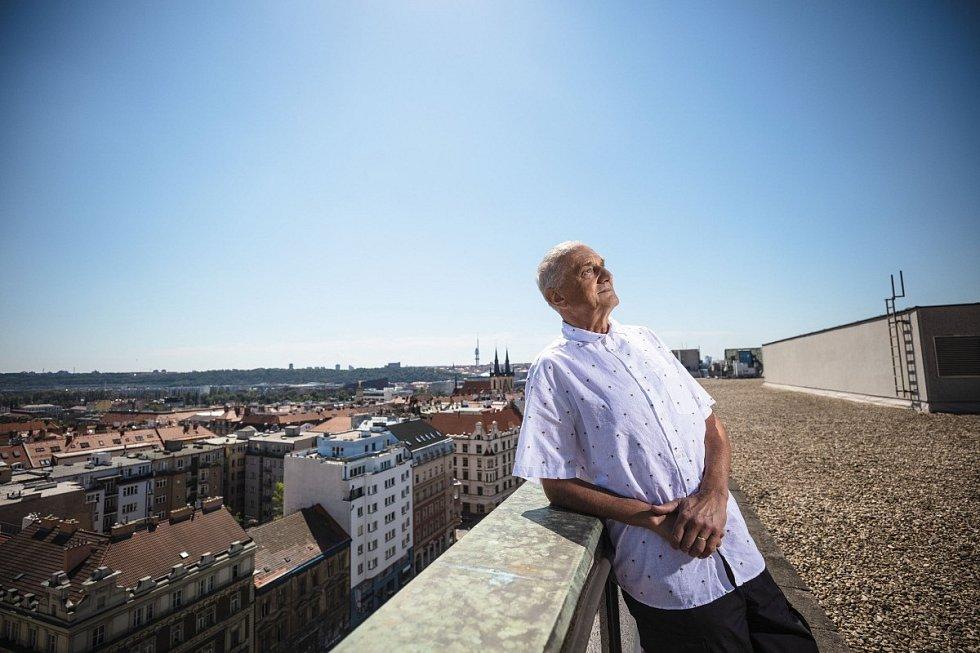 """V soutěži """"Best of Realty – Nejlepší z realit"""" získal cenu i architekt David Vávra."""