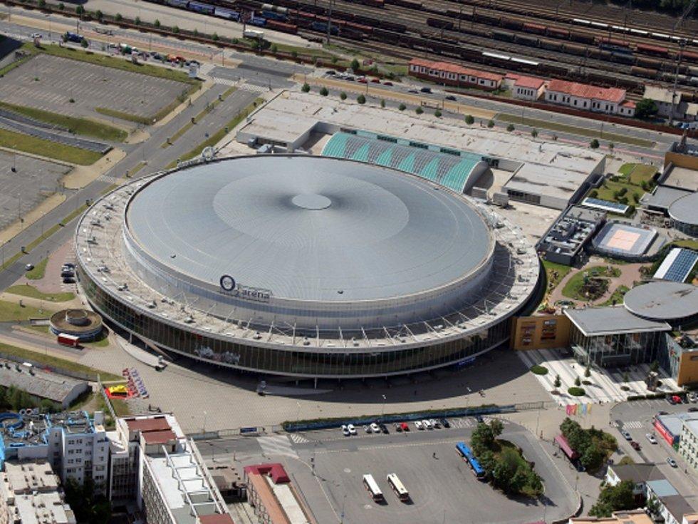 O2 Arena, kdysi Sazka arena.