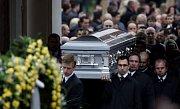 V Břevnovském klášteře se konal pohžeb Václava Kočky mladšího. Rakev se zesnulým doprovázelo na tisíc lidí.