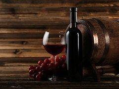Víno. Ilustrační foto.