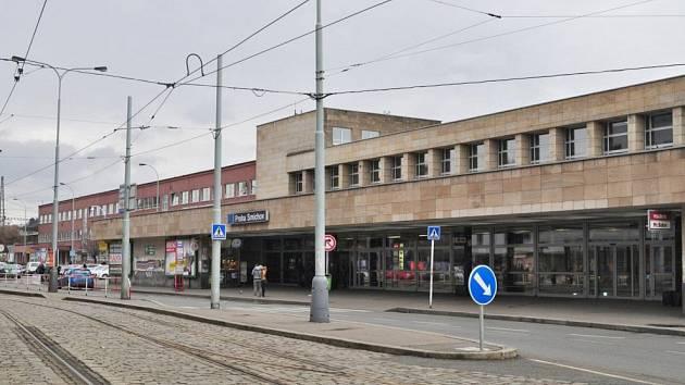 Nádraží Praha-Smíchov.