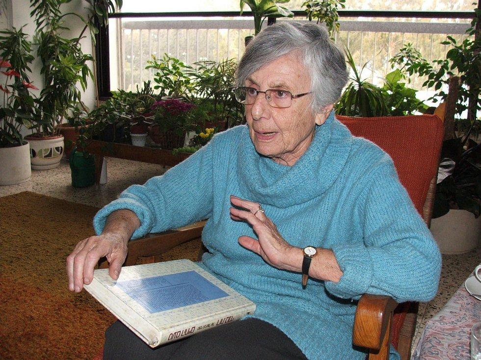 Ruth Bondyová v roce 2008.