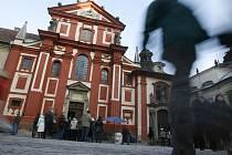 Bazilika svatého Jiří na Pražském hradě.