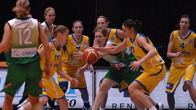 Basketbalistky USK si mohou vylepšit nelichotivou bilanci s Brnem, které nedokázali letos ani jednou porazit.