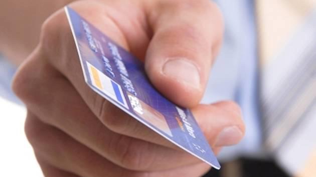 Platební karta. Ilustrační foto.