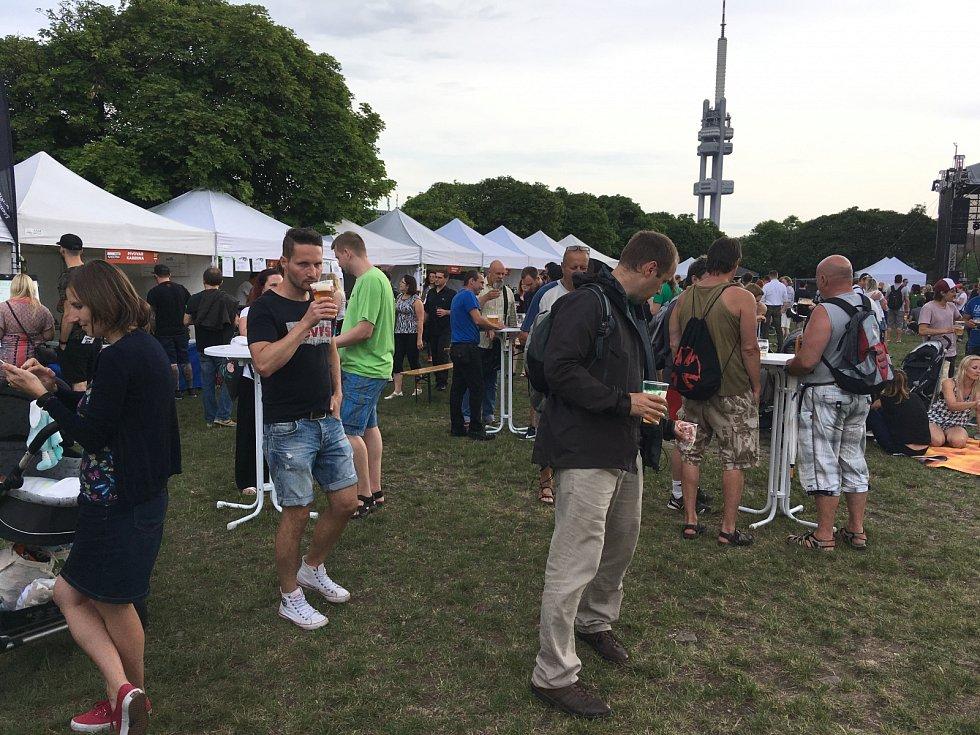 Žižkovské pivobraní se letos konalo již po sedmé