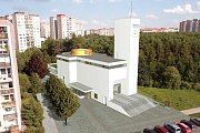 Na pražském Barrandově by měl vyrůst kostel s kavárnou a komunitním centrem.