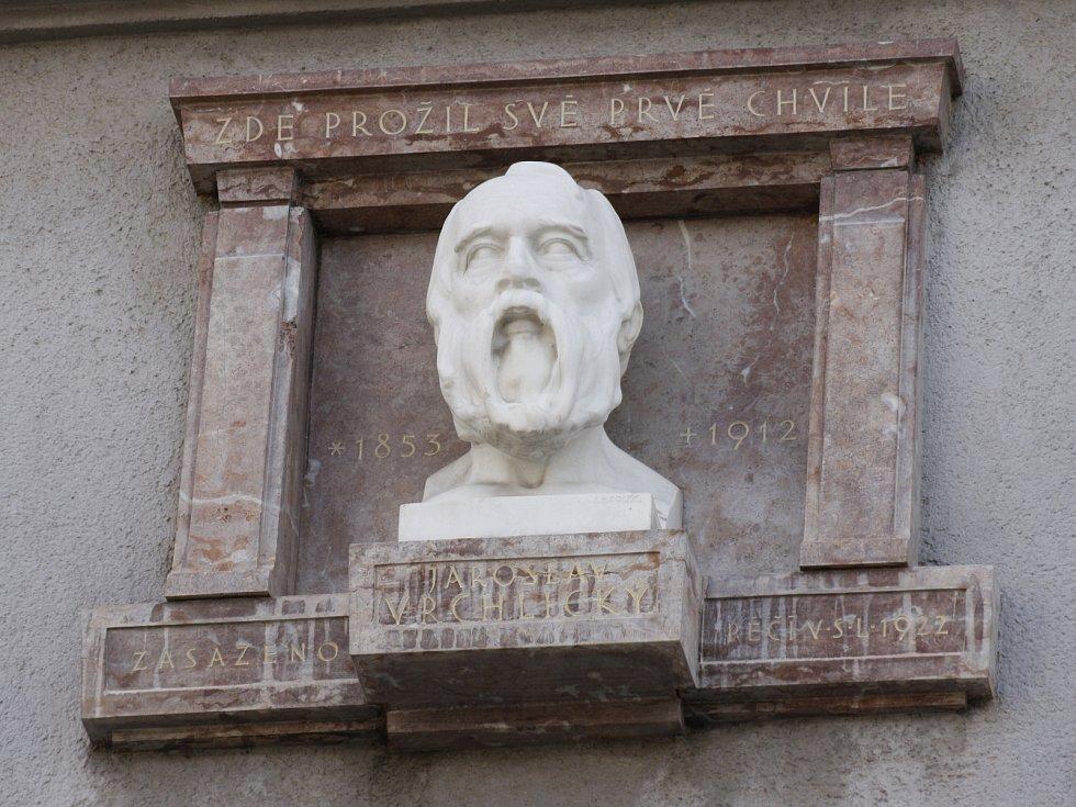 Busta Jaroslava Vrchlického.