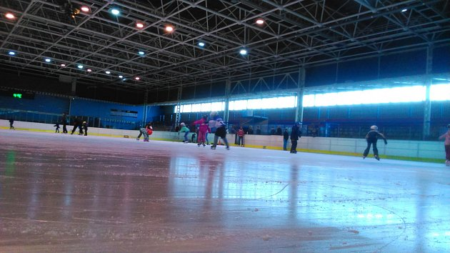 Zimní stadion. Ilustrační foto.