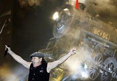 Hardrocková legenda AC/DC v Praze.