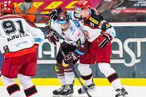 18. kolo hokejové Tipsport extraligy: Mountfield Hradec Králové – HC Sparta Praha 2:5 (0:2, 2:2, 0:1).