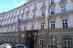 Hlavní pošta v Praze.