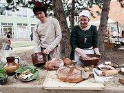 Vysoká škola hotelová na Praze 8 servírovala pokrmy a nápoje z doby Karala IV.