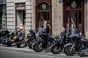 Příznivci americké motocyklové značky Harley-Davidson se sešli 5. července 2018 na pražském Výstavišti, aby oslavili 115. výročí značky.