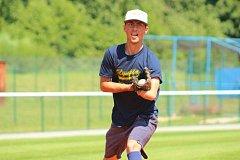 Jednoruký baseballista David Farkaš se zúčastní All Star Game, byť mu chybí kus ruky. Farkaš hraje ze Olympii Blansko.