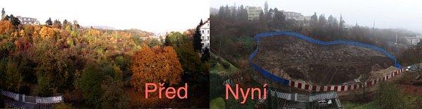 Nikolajka na Smíchově - před a nyní.