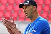 Trenér FK Viktoria Žižkov Petr Mikolanda.