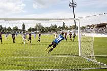 22. kolo FORTUNA:NÁRODNÍ LIGY: FC Hradec Králové - Viktoria Žižkov 5:0 (3:0).