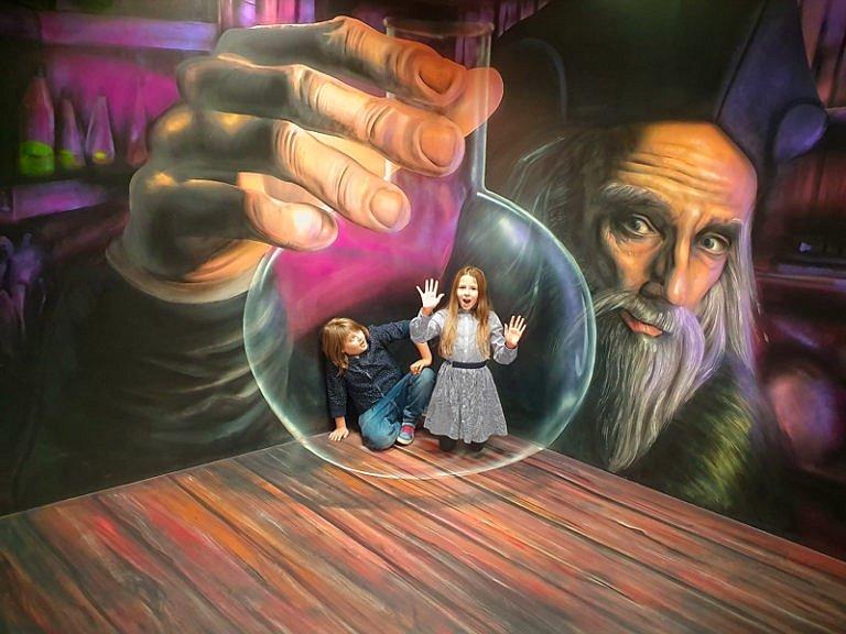 Muzeum fantastických iluzí připravilo pro děti Kouzelný víkend.