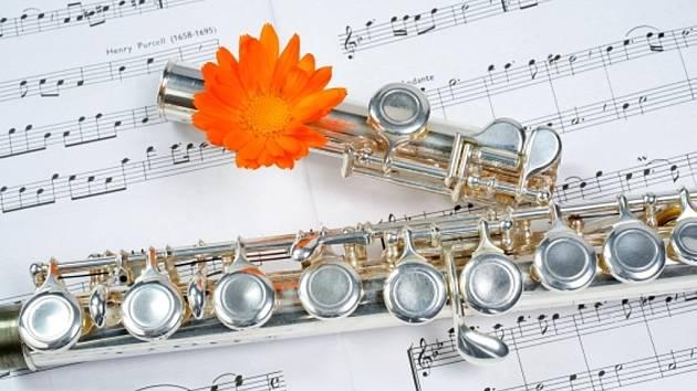 Příčná flétna. Ilustrační foto.