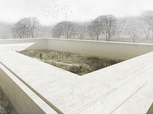 Rozšíření hřbitova Hostivař.