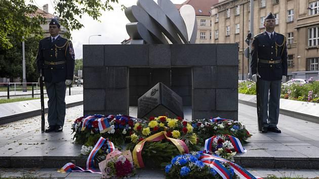 Pietní akt při příležitosti 81. výročí Bitvy o Anglii a připomínky bojového nasazení československých letců RAF se uskutečnil 9. července 2021 v pražských Dejvicích.