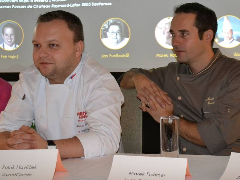 Z tiskové konference před zahájením festivalu Chef time fest v Praze.