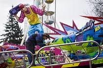 Poslední přípravy na tradiční Matějskou pouť 2014, která na pražském Výstavišti začne v sobotu 1. března a návštěvníkům nabídne 120 atrakcí.