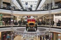 Výstava automobilů Mercedes Benz. 3.2.2018