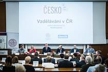 Veřejná debata expertů o školství. Univerzita Karlova 1. října 2019.