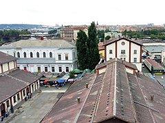 Tržnice v Holešovicích.Ilustrační foto.