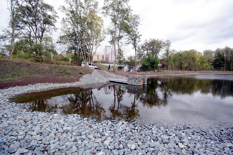Rybník Lipiny v Modřanech. Ilustrační foto