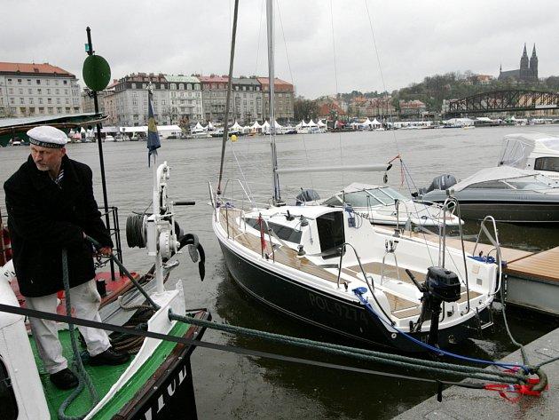 Veletrh Lodě na vodě začal 12. dubna v Praze.