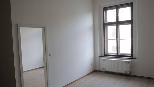 Prázdný byt. Ilustrační foto.