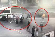 Cizinec na koloběžce srazil turistku.