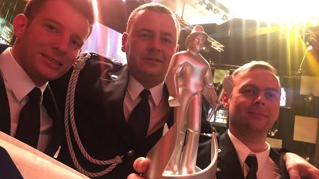 Pražští hasiči uspěli v soutěži Conrad Dietrich Magirus Award.