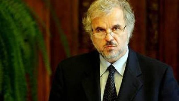 Ivan David - ředitel bohnické Psychiatrické léčebny.