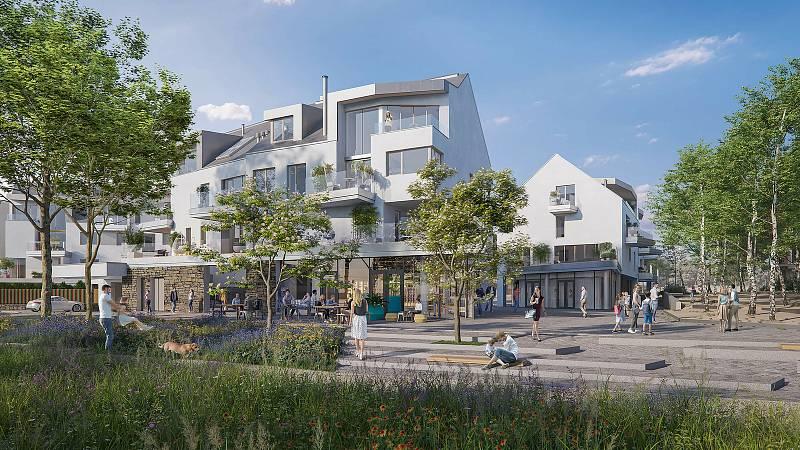 Nové městečko nabídne 480 domů a bytů.