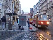 Dopravní podnik (DPP) zahájil v centru Prahy další etapu opravy tramvajových kolejí.