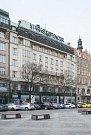 Budova Melantrichu na Václavském náměstí. 22.3.2018