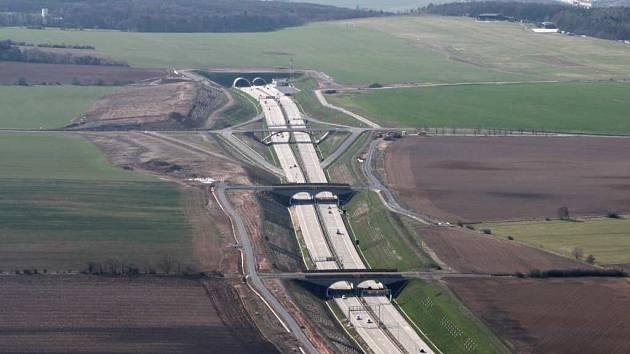 Komořanský tunel. Ilustrační foto.