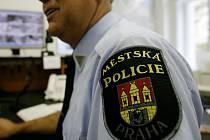Strážník Městské policie Praha. Ilustrační foto.