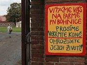 Den otevřených dveří v Psychiatrické nemocnici Bohnice.