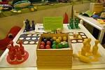 Výstava Textilní hračky a kapsáře